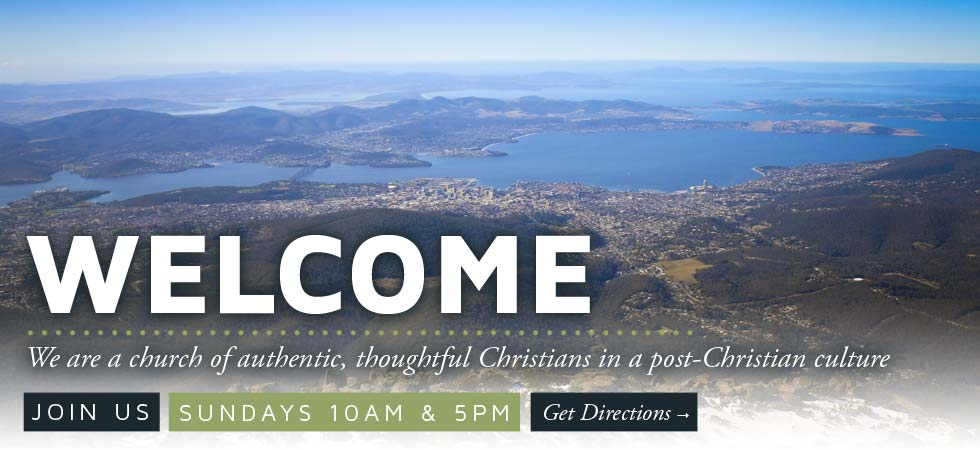 Welcome! We are a church of authentic, thoughtful Christians in a post-Christian culture. Join us Sundays 10am & 5pm, click to find out where